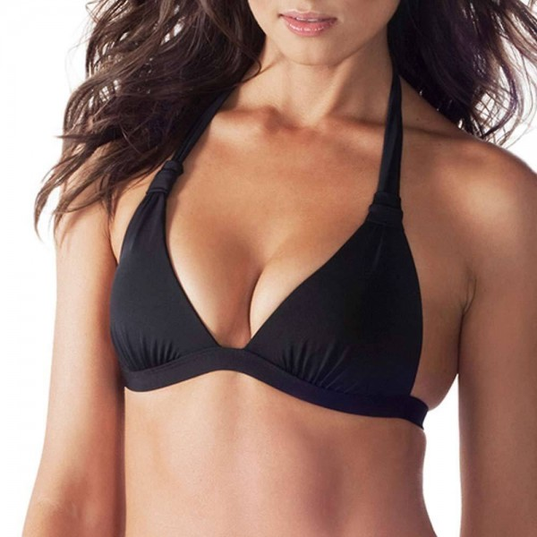 VODA SWIM Envy Push-up Halter Bikini-Top