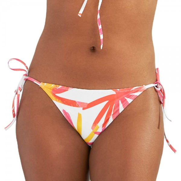 AIMA DORA Classic Side-Tie Bikinihose, tropical leaves