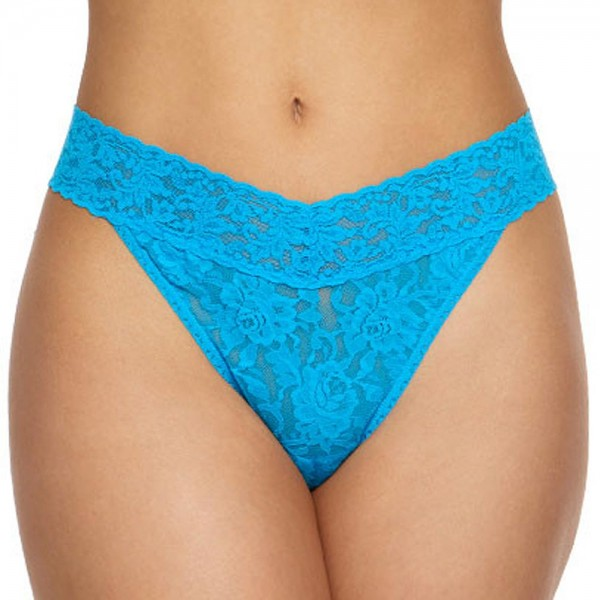 HANKY PANKY Signature Lace Original String, fiji blue