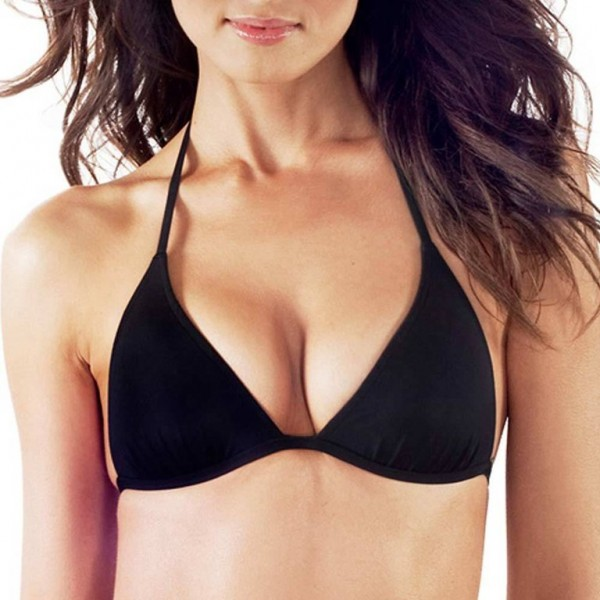 VODA SWIM Envy Push-up Bikini-Top - schwarz