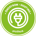 Ökostrom-Hosting powered by Profihost